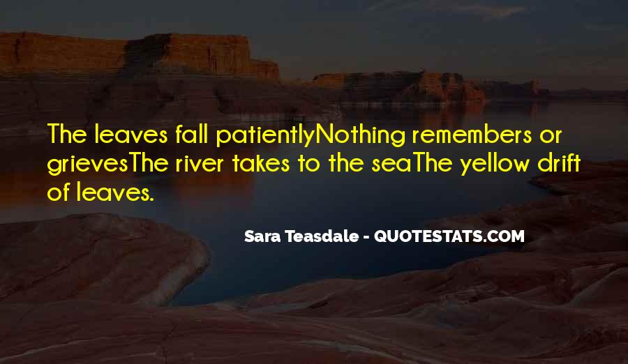 Quotes About Fall Leaves #137024