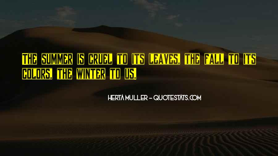 Quotes About Fall Leaves #182186