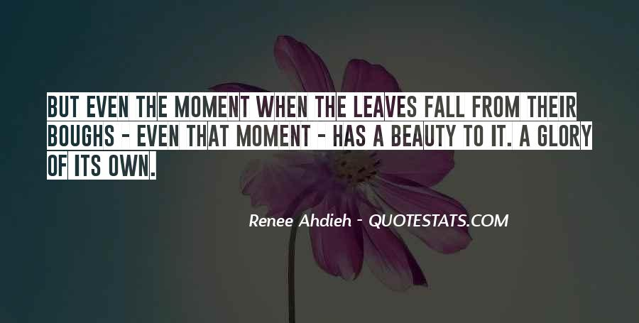 Quotes About Fall Leaves #276057