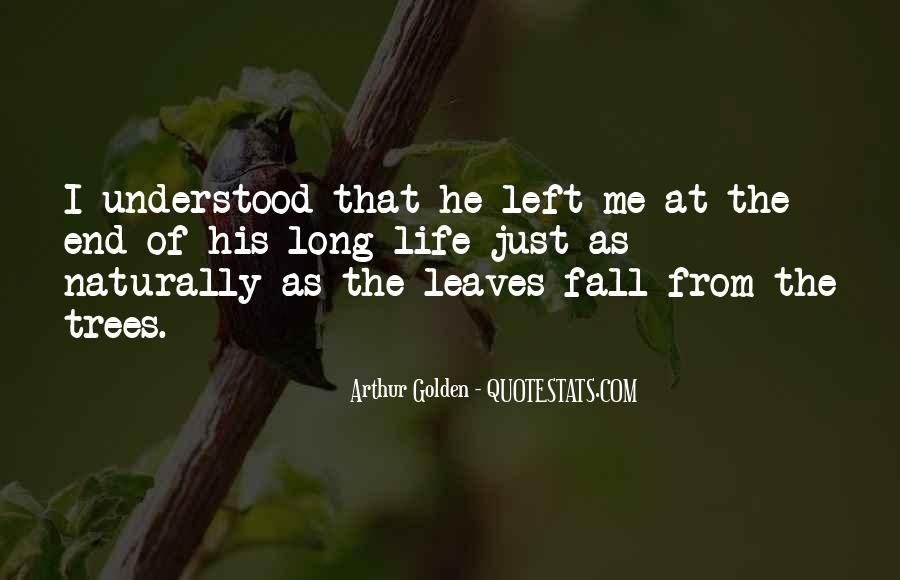 Quotes About Fall Leaves #29773