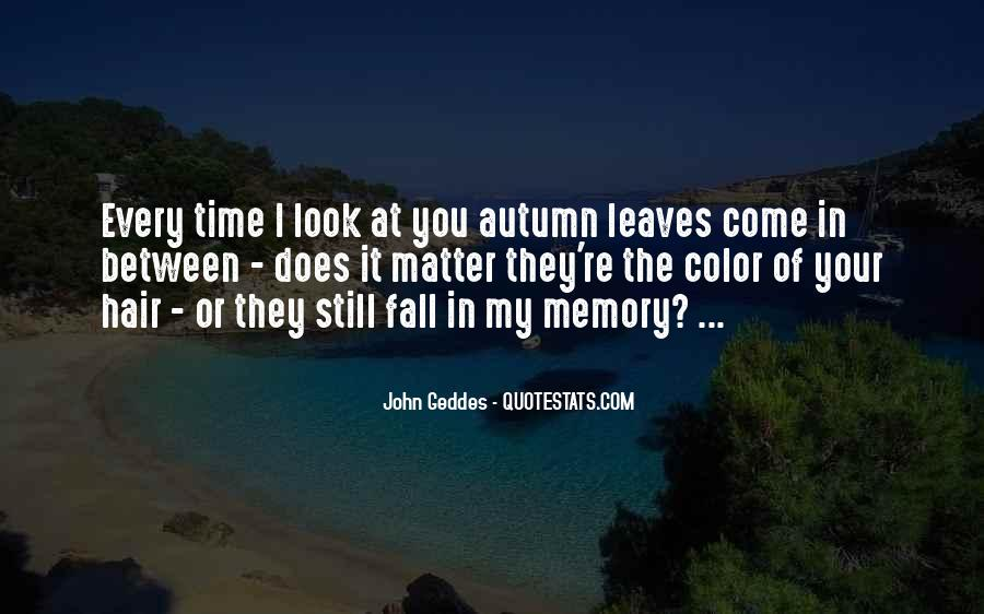 Quotes About Fall Leaves #326253