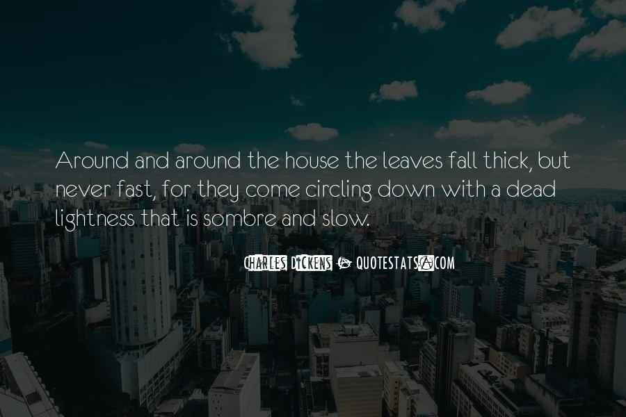 Quotes About Fall Leaves #357167