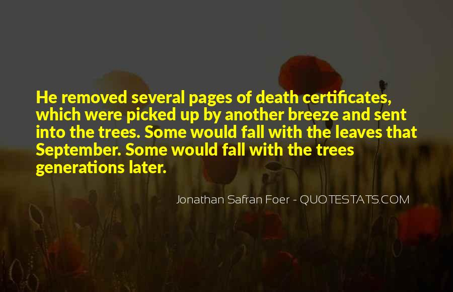 Quotes About Fall Leaves #456000