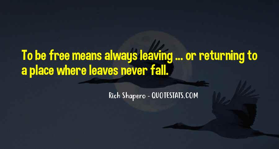 Quotes About Fall Leaves #691082