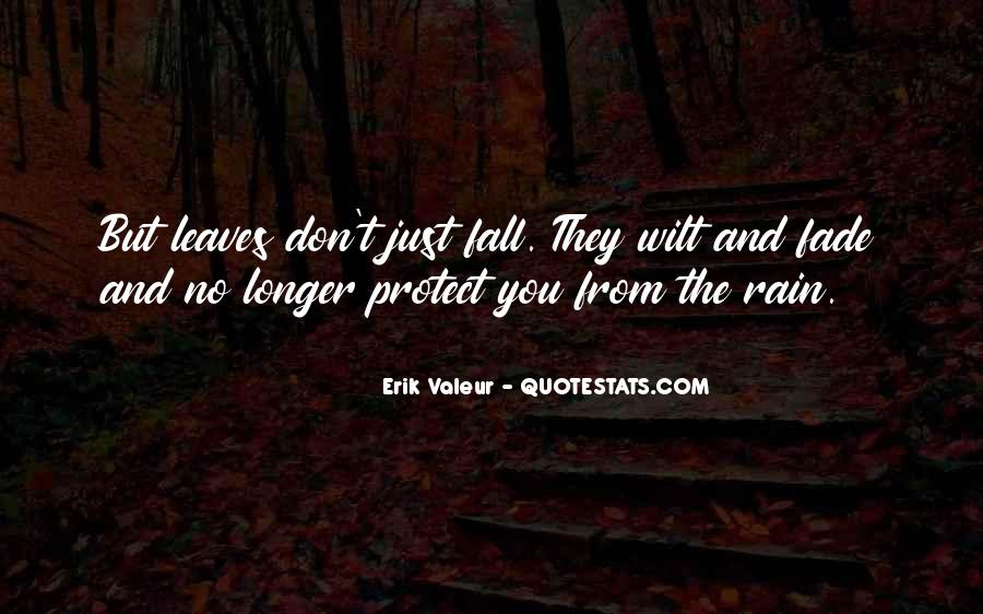 Quotes About Fall Leaves #907305