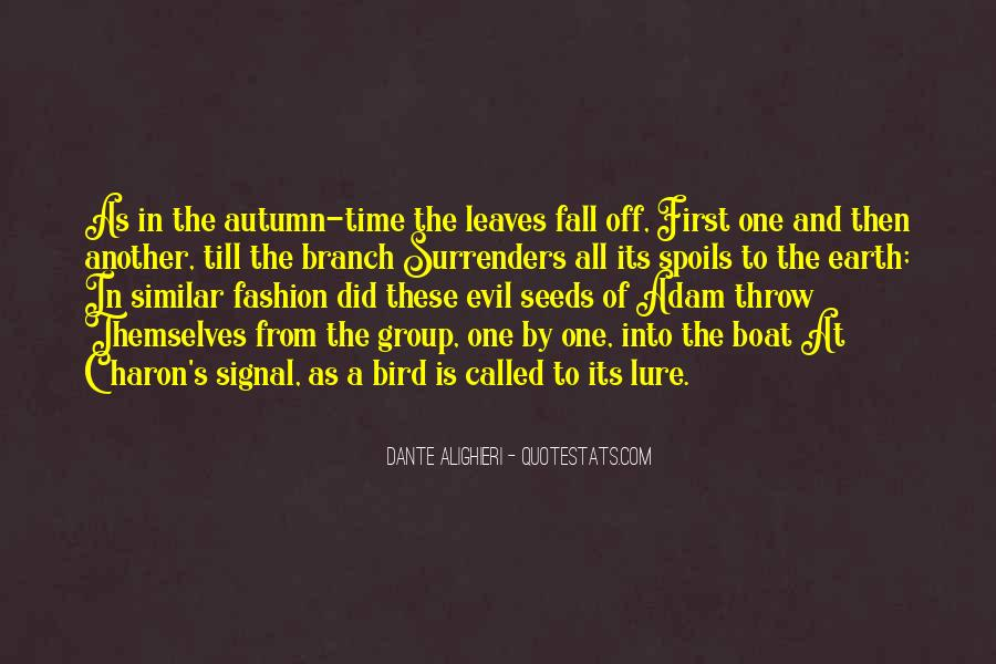 Quotes About Fall Leaves #979670