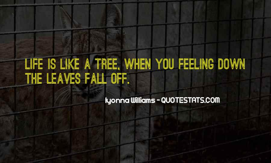 Quotes About Fall Leaves #999594