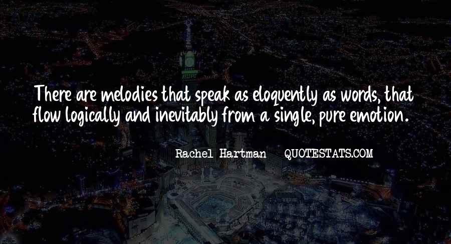 Quotes About Rachel In Speak #1196187