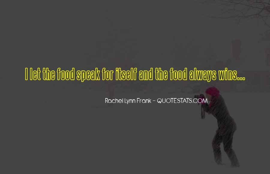 Quotes About Rachel In Speak #1196198