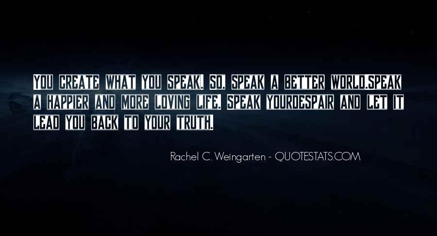 Quotes About Rachel In Speak #1317615