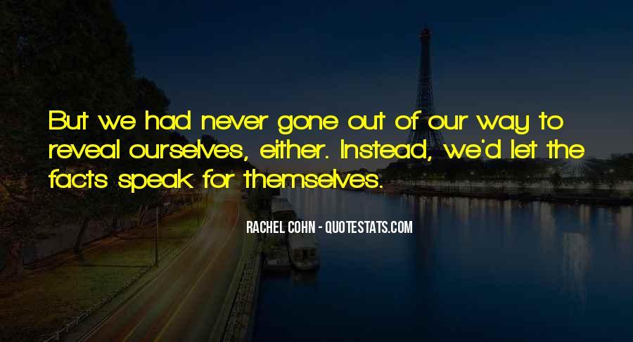 Quotes About Rachel In Speak #154578