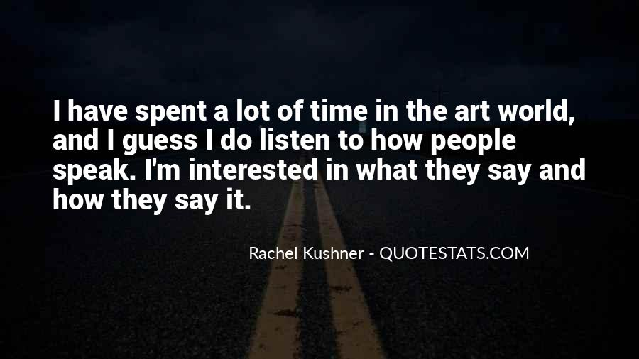 Quotes About Rachel In Speak #1649497