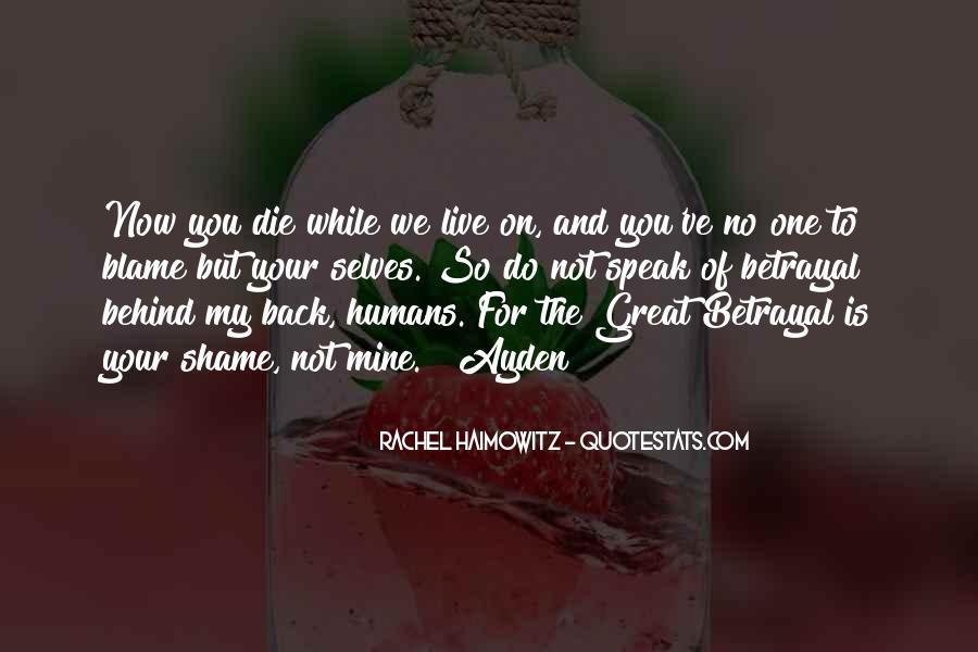 Quotes About Rachel In Speak #169049