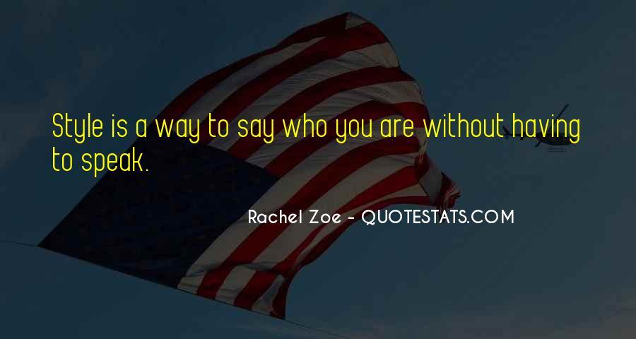 Quotes About Rachel In Speak #997000