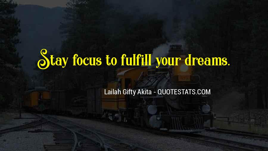 Quotes About Achievement And Dreams #132049