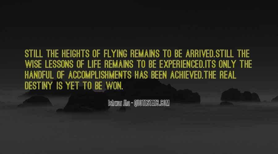 Quotes About Achievement And Dreams #1437415