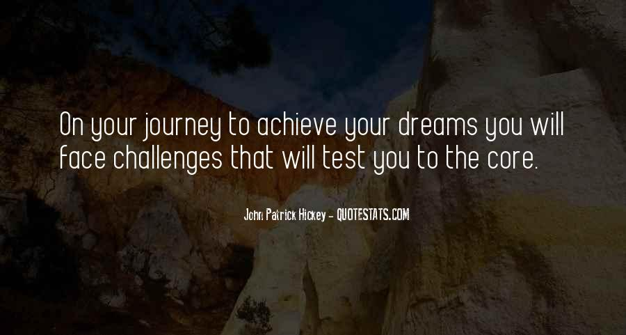Quotes About Achievement And Dreams #1505846