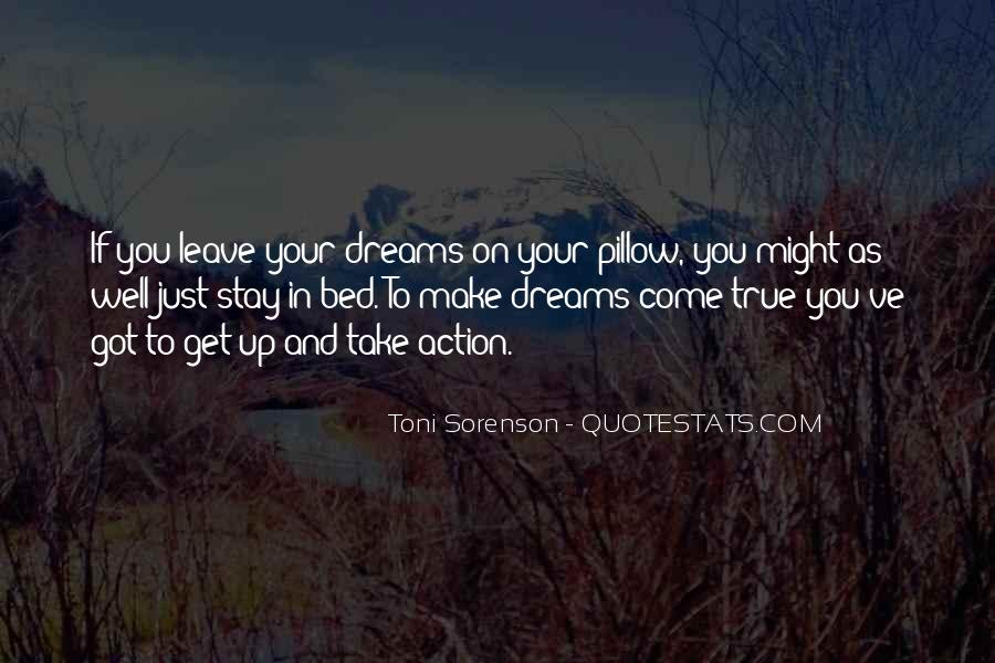 Quotes About Achievement And Dreams #1872306