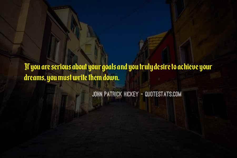 Quotes About Achievement And Dreams #272749