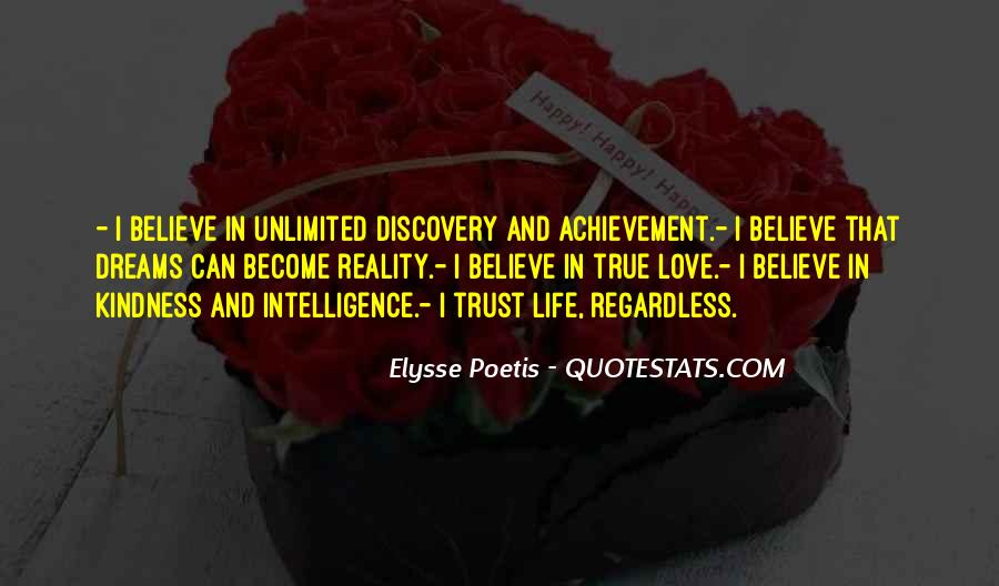 Quotes About Achievement And Dreams #288609