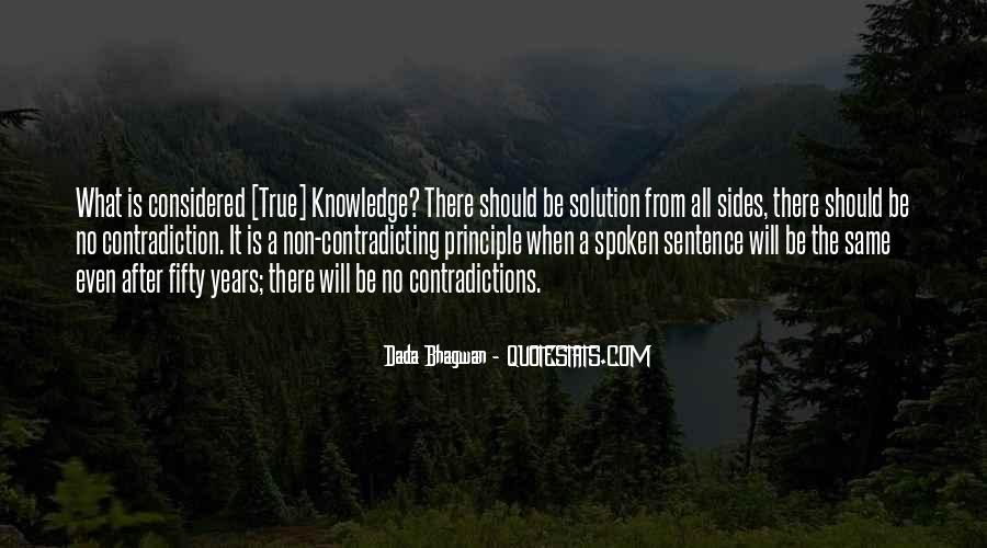 Quotes About Contradicting #1650510