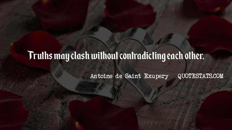 Quotes About Contradicting #1772694