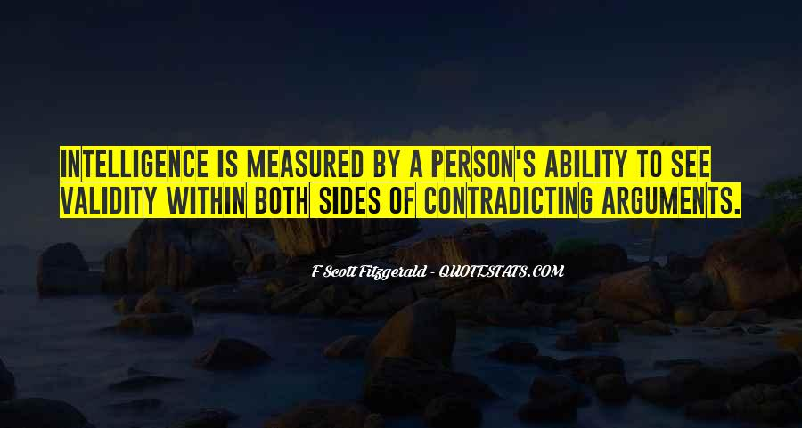 Quotes About Contradicting #985105