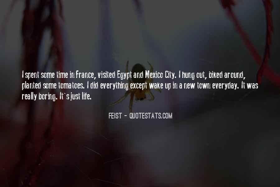 Quotes About Cities And Life #1277840