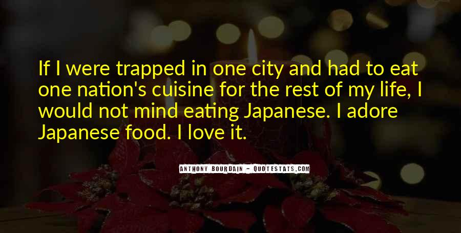 Quotes About Cities And Life #1410921