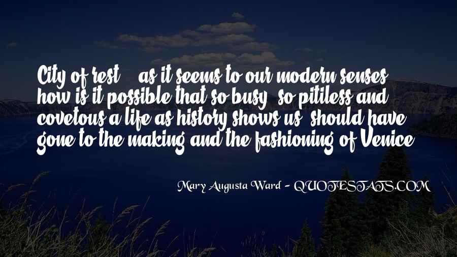 Quotes About Cities And Life #1437402