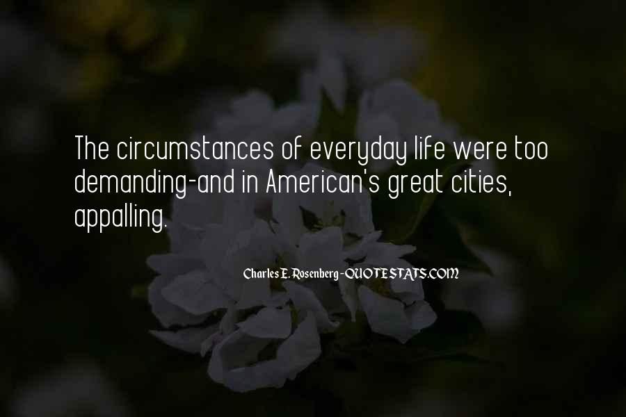 Quotes About Cities And Life #168124