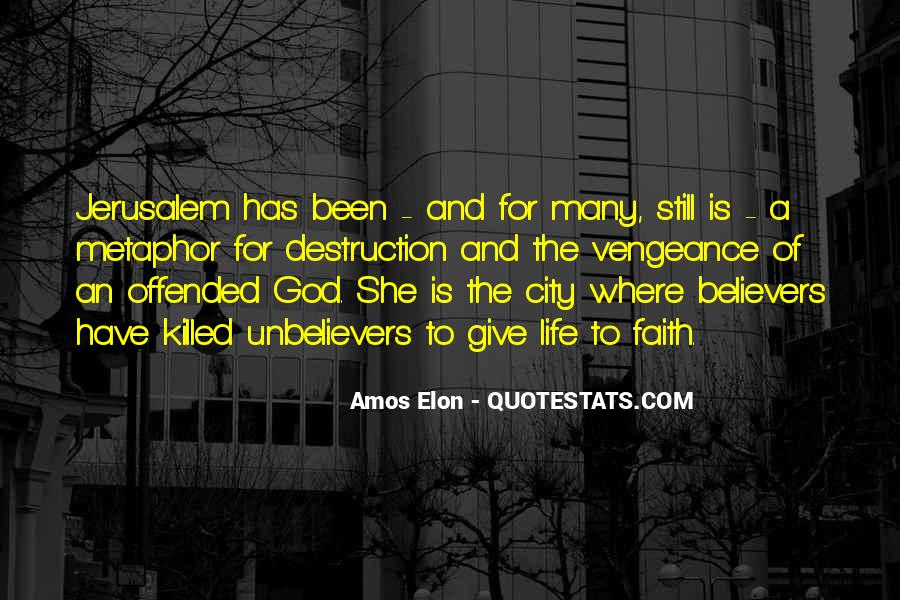 Quotes About Cities And Life #217993