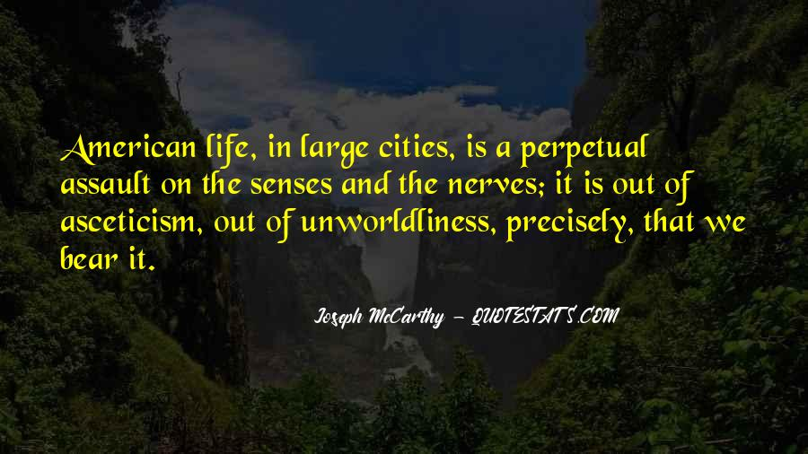 Quotes About Cities And Life #223457