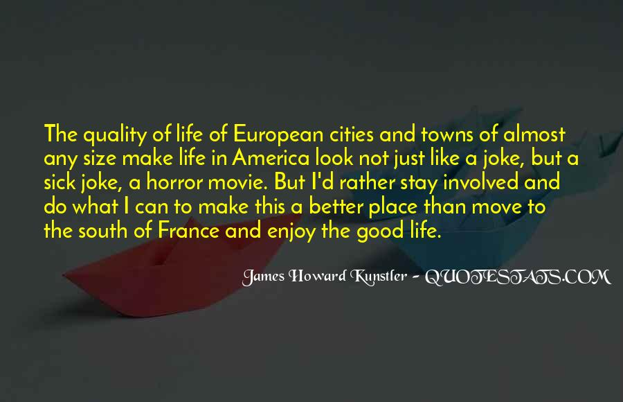Quotes About Cities And Life #284369