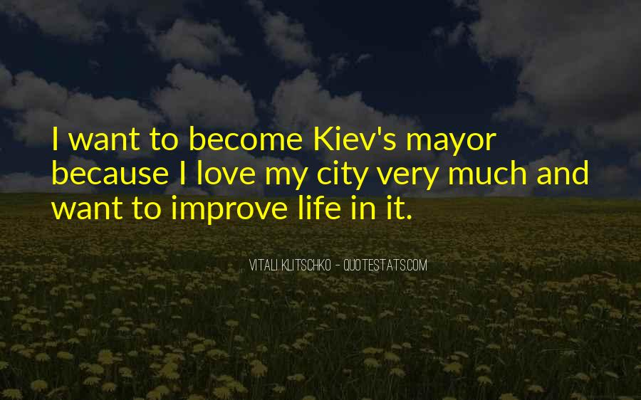 Quotes About Cities And Life #366899
