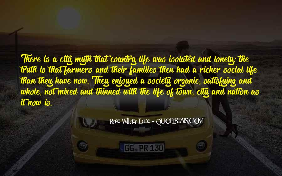 Quotes About Cities And Life #679773