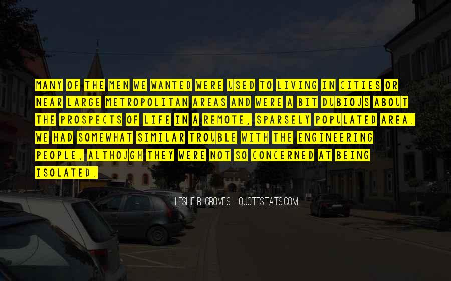 Quotes About Cities And Life #835645