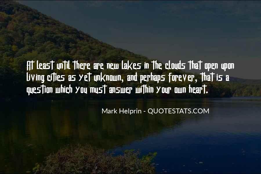 Quotes About Cities And Life #867324
