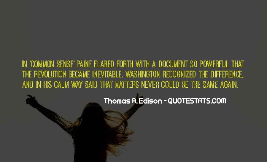 Quotes About Common Sense By Thomas Paine #1191861