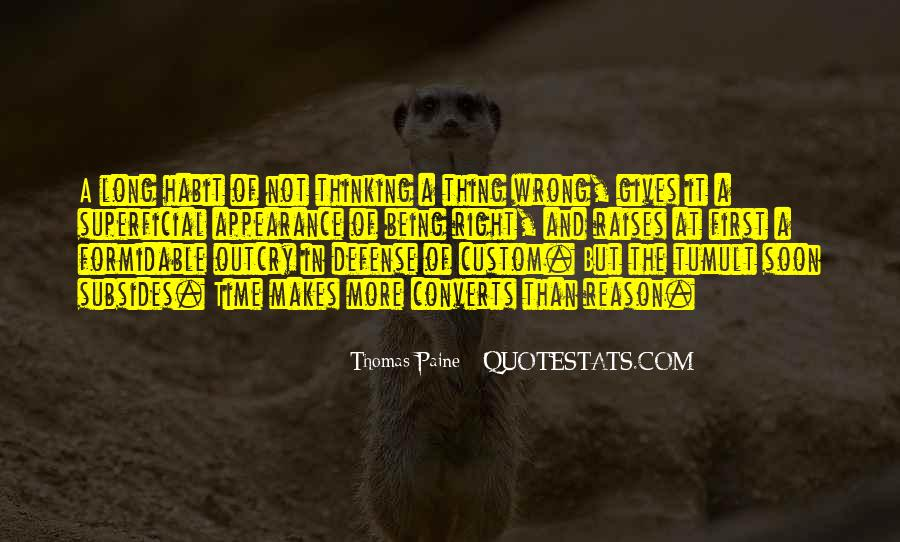 Quotes About Common Sense By Thomas Paine #1361953