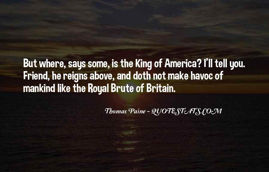 Quotes About Common Sense By Thomas Paine #692564