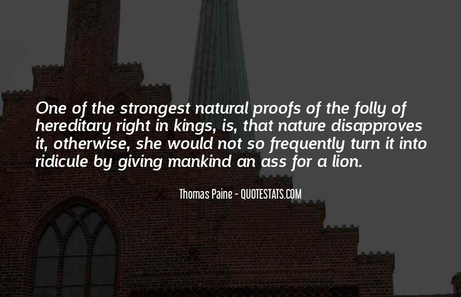 Quotes About Common Sense By Thomas Paine #76658