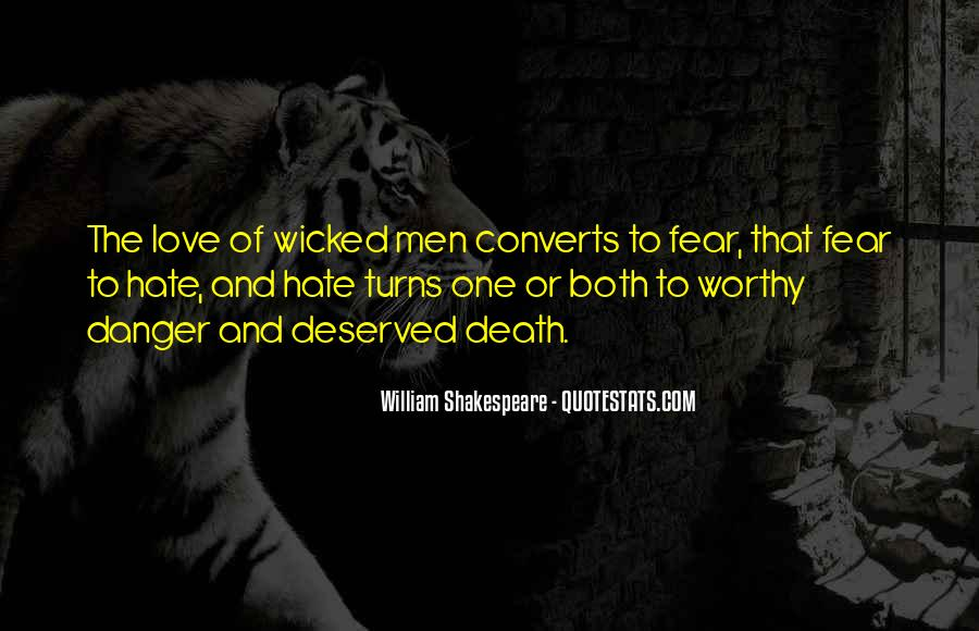 Quotes About Love And Death Shakespeare #1153764
