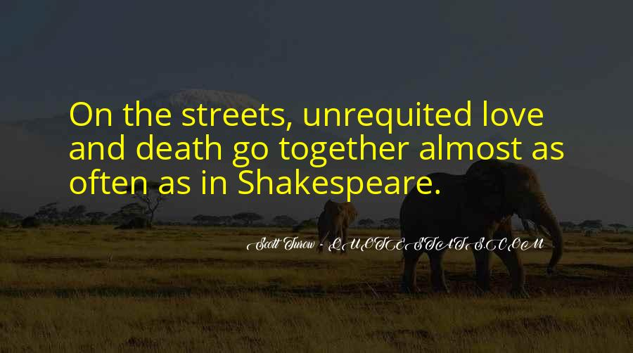 Quotes About Love And Death Shakespeare #1234380