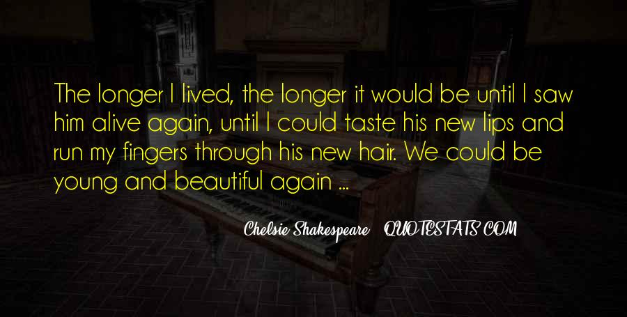 Quotes About Love And Death Shakespeare #1239834