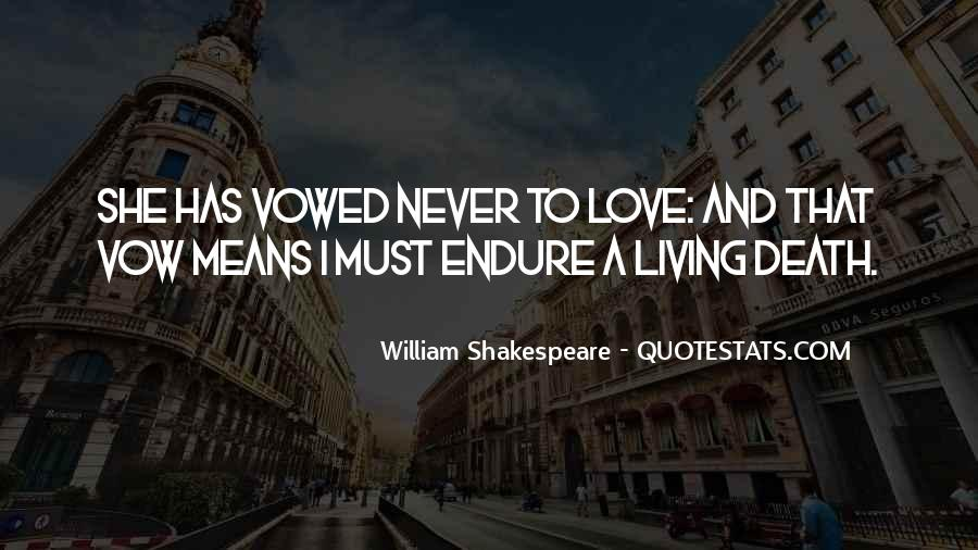 Quotes About Love And Death Shakespeare #1838455