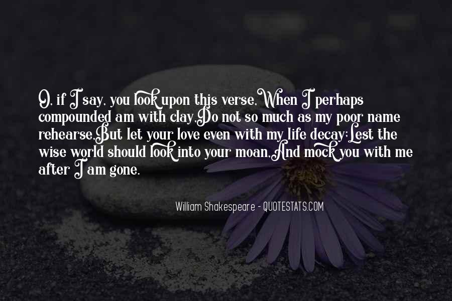 Quotes About Love And Death Shakespeare #972435