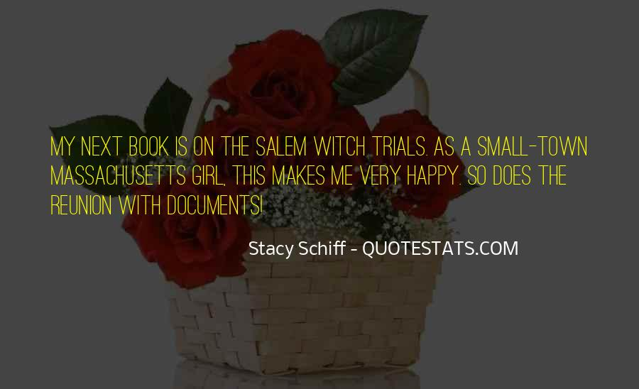 Quotes About Salem Witch Trials #1140513