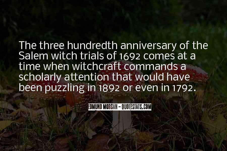 Quotes About Salem Witch Trials #98218