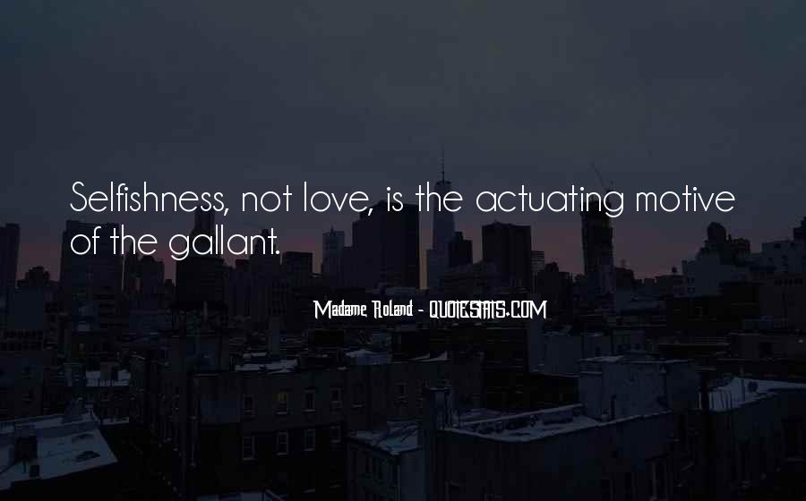 Quotes About Love Is Not Selfish #891735